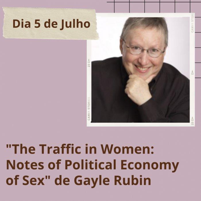 Gayle Rubin The Traffic In Women